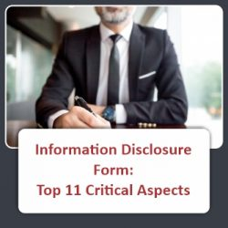 Information Disclosure Form Top 11 Critical Aspects