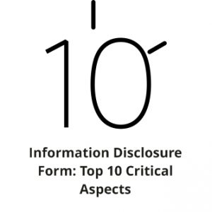 Information Disclosure Form