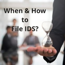 When & How to file IDS