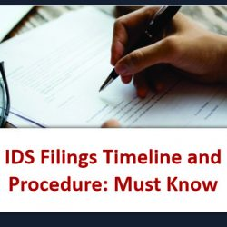 IDS Filings Timeline and Procedure Must Know