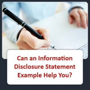 Can an Information DIsclosure Statement Example Help You