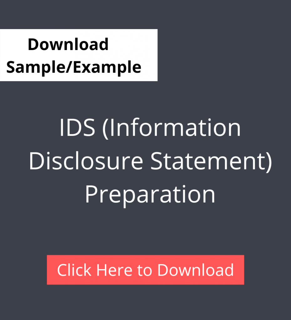 IDS (Information Disclosure Statement) Preparation