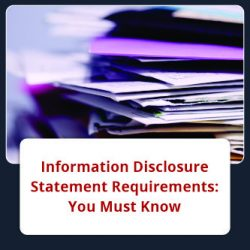 Information Disclosure Statement Requirements